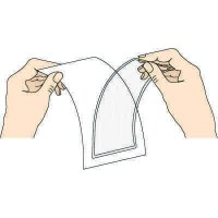 Open-Pocket Adhesive Strip Protective Holders