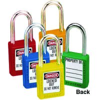 Master Lock® 410 Zenex™ Thermoplastic Safety Padlock Sets