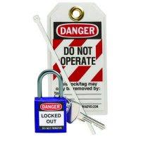 Brady 123150 Purple Compact Lock Personal Kit - Kit