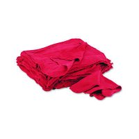 United Facility Supply Red Shop Towels  N900RST