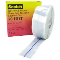 Scotch® Self-Fusing Silicone Rubber Electrical Tape 70