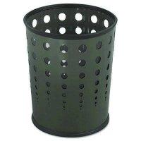 Safco® Bubble Wastebasket  SAF9740BL