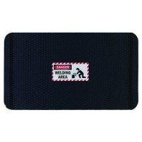 Hog Heaven™ Safety Message Anti-Fatigue Mats - Danger Welding Area