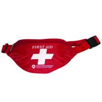 First Aid Kit Fanny Pack, Fabric Case