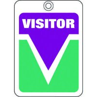 Visitor ID Tags