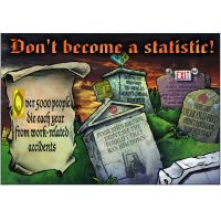 Don't Become A Statistic Wallchart