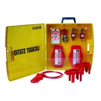 Ready Access Valve Lockout Station with Safety Padlocks