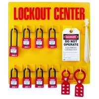 Zing® RecycLockout Lockout Station, 8 Padlocks