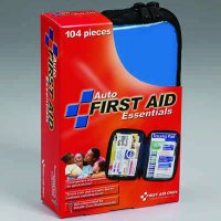Soft Pack Auto First Aid Kit -104 piece  FAO-532