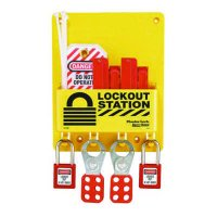 Master Lock® Compact Lockout Station, Circuit Breaker