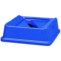 Square Recycling Container Paper Only Lid