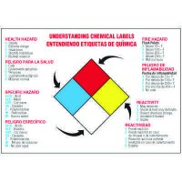 Bilingual Understanding Chemical Labels Wallchart