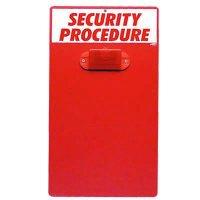 Security Procedure Clipboard