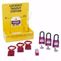 Zing® RecycLockout Mini Lockout Station, Stocked