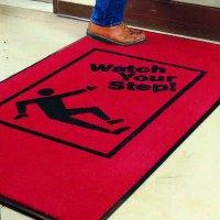 Safety Slogan Carpet Mat - Watch Your Step -  2078832
