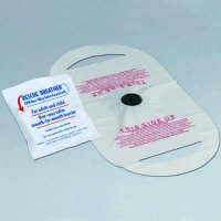 CPR One-Way Valve Face Shield
