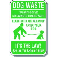 Dog Waste Disposal Sign
