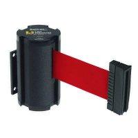 Beltrac® Wall-Mount Retractable Belts - Red Belt