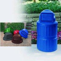 Plastic Waste Receptacles