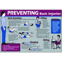 Preventing Back Injuries Wallchart
