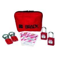 Brady® Keyed Alike Padlock Pouch