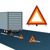 Warning Triangle Kit Cortina 95-03-009(3)