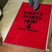 Safety Slogan Carpet Mats -  1990473