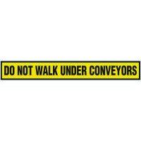 Do Not Walk Floor Warning Strips
