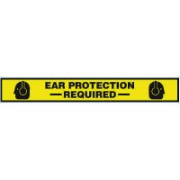 Ear Protection Required Floor Marking Strips