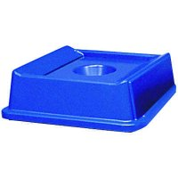 Square Recycling Container Bottle and Can Lid