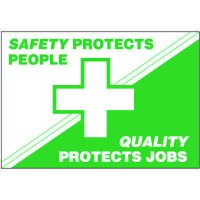Safety Protects People Wallchart