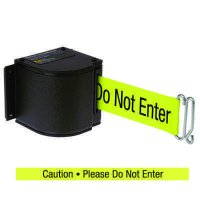 QuickMount™ Safety Barricades - Caution Please Do Not Enter  50-3016U/WB/18/FY/S6