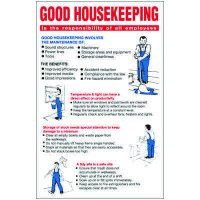Good Housekeeping Workplace Wallchart