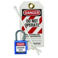 Brady 123146 Blue Compact Lock Personal Kit - Kit