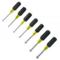 Klein Tools - 7 Pc. Cushion-Grip Nut Driver Sets