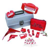 Brady 99685 Combination Lockout Toolbox With Brady Steel Padlocks & Tags