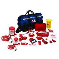 Brady 99690 Combination Lockout Duffel With Brady Safety Padlocks & Tags