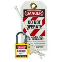 Brady 123147 Yellow Compact Lock Personal Kit - Kit