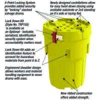 Envirosalv™ Poly Salvage Drum Plus and Lock Down Security Kit