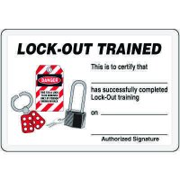Lock-Out Trained Card