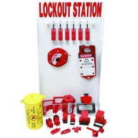Small Lockout Station With Components