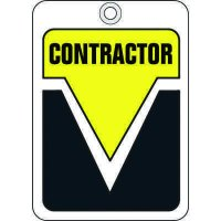 Contractor ID Tags