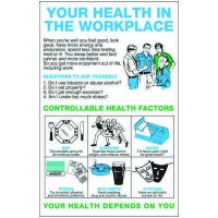 Your Health In The Workplace Wallchart