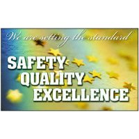 Safety Quality Excellence Workplace Banner