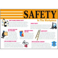 Safety In The Workplace Wallchart