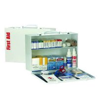 ANSI 75-Person Class A+ First Aid Kit With Meds  90572