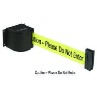 Beltrac® Wall-Mount Retractable Belts - Safety Message Belt