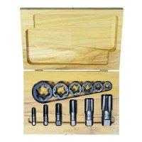 Irwin Hanson® - High Carbon Steel 12-Piece Tap & Re-Threading Pipe Die Sets  1920