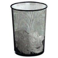 Rolodex™ Mesh Round Wastebasket Rolodex ROL22351