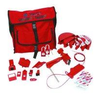 Brady 99687 Combination Lockout Satchel w/ Brady Safety Padlocks & Tags